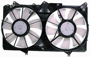 2002-2006 Toyota Camry Radiator Cooling Fan Assembly (V6)