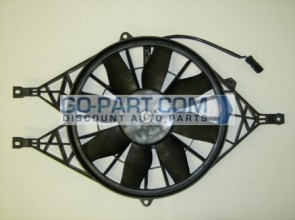 2003-2004 Saturn Ion Radiator Cooling Fan Assembly