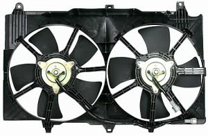 2003-2006 Nissan 350Z Radiator Cooling Fan Assembly