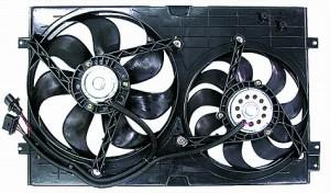 1999-2004 Volkswagen Golf / GTI / GTA Radiator Cooling Fan Assembly