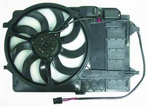 2003-2008 Mini Cooper Radiator Cooling Fan Assembly