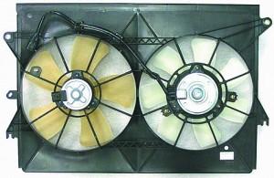 2005-2009 Scion tC Radiator Cooling Fan Assembly