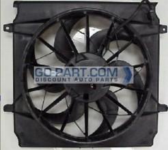 2004-2007 Jeep Liberty Radiator Cooling Fan Assembly