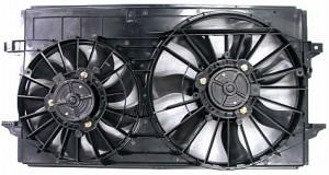 2004-2008 Chevrolet (Chevy) Malibu Radiator Cooling Fan Assembly