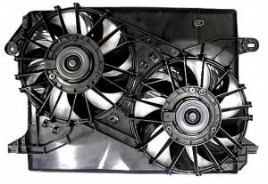 2005-2007 Dodge Magnum Radiator Cooling Fan Assembly