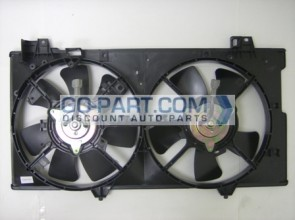 2003-2008 Mazda 6 Mazda6 Radiator Cooling Fan Assembly (2.3L / Without Tank)