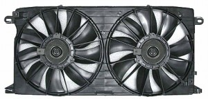 2000-2005 Cadillac Deville Radiator Cooling Fan Assembly