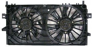 2004-2008 Pontiac Grand Prix Radiator Cooling Fan Assembly