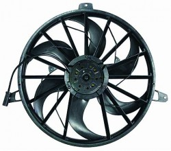 2005-2007 Jeep Liberty Radiator Cooling Fan Assembly (With 3.7L Engine)