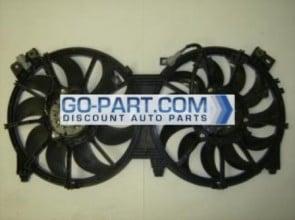 2007-2010 Jeep Wrangler Radiator Cooling Fan Assembly
