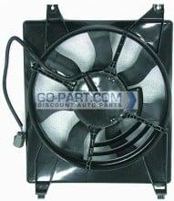 2006-2010 Kia Sedona Radiator Cooling Fan Assembly (Right Side)