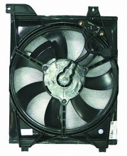 2006-2009 Kia Rio Condenser Cooling Fan Assembly