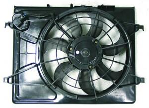 2007-2010 Hyundai Elantra Radiator Cooling Fan Assembly