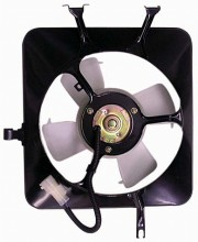 1990-1993 Acura Integra Condenser Cooling Fan Assembly