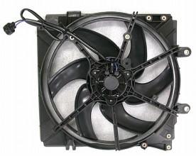 1998-1999 Mazda 626 Radiator Cooling Fan Assembly (Main Cooling Fan)