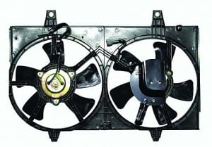2000-2000 Nissan Maxima Radiator Cooling Fan Assembly