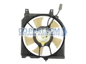 1995-1999 Nissan 200SX Condenser Cooling Fan Assembly