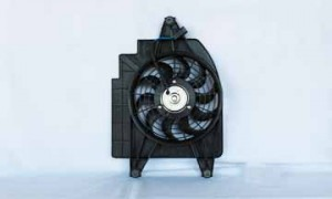 2002-2002 Kia Rio5 Cooling Fan Assembly