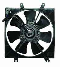 2000-2004 Kia Spectra Cooling Fan Assembly