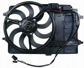 2002-2003 Mini Cooper Cooling Fan Assembly