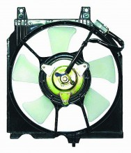 1991-1999 Nissan Sentra Condenser Cooling Fan Assembly