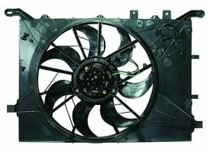 2001-2004 Volvo V70 Cooling Fan Assembly