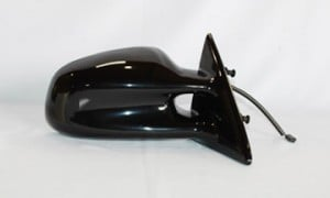 1999-2002 Pontiac Grand Am Side View Mirror (Non-Heated / Power Remote / Black Lens) - Right (Passenger)