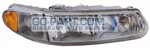 1997-2004 Buick Century Headlight Assembly - Right (Passenger)