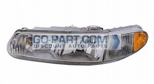 1997-2005 Buick Century Headlight Assembly - Left (Driver)