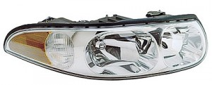 2000-2000 Buick LeSabre Headlight Assembly (with Corner & Marker Lamp / Limited / with Smooth High Beam Surface) - Right (Passenger)