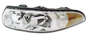 2000-2005 Buick LeSabre Headlight Assembly (with Corner & Marker Lamp / Limited / with Fluted High Beam Surface) - Left (Driver)