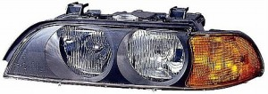 1997-1998 BMW 540i Headlight Assembly - Left (Driver)