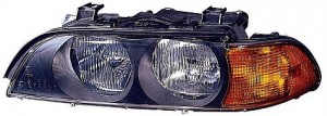 1998-2000 BMW 540i Headlight Assembly - Left (Driver)