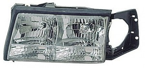 1997-1999 Cadillac Deville Headlight Assembly - Left (Driver)
