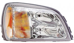 2000-2003 Cadillac Deville Headlight Assembly - Right (Passenger)
