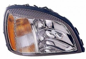 2004-2005 Cadillac Concours Headlight Assembly - Right (Passenger)
