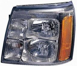 2002-2002 Cadillac Escalade Headlight Assembly - Left (Driver)