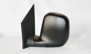 1996-2002 Chevrolet Chevy G Van Side View Mirror (Late Design / Power Remote) - Left (Driver)