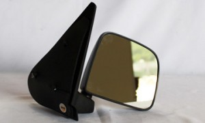 1998-2002 Mazda B2500 Side View Mirror (Non-Heated / Manual / Post-Mount / Textured Black) - Right (Passenger)