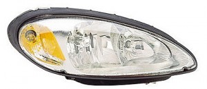 2001-2005 Chrysler PT Cruiser Headlight Assembly - Right (Passenger)