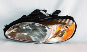 2001-2002 Dodge Stratus Headlight Assembly (Coupe) - Left (Driver)
