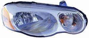 2004-2005 Chrysler Sebring Headlight Assembly (Sedan / without Headlamp Leveling) - Right (Passenger)