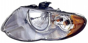 2005-2007 Chrysler Town & Country Headlight Assembly (with 119 Inch Wheelbase) - Left (Driver)