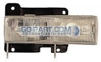 1992-1999 GMC Jimmy Headlight Assembly - Right (Passenger)