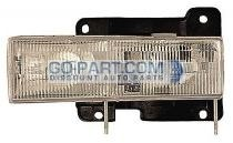 1992-1999 Chevrolet (Chevy) Blazer Headlight Assembly - Left (Driver)