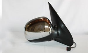 1998-2002 Ford Expedition Side View Mirror (Power Remote / Non-Heated / without Signal Lamp / Chrome) - Right (Passenger)