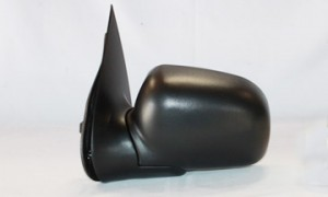 2002-2005 Ford Explorer Side View Mirror (Power Remote / Heated / with Puddle Light / Folding Excluding Sport) - Left (Driver)
