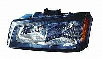 2005-2007 Chevrolet (Chevy) Silverado  Headlight Assembly - Left (Driver)