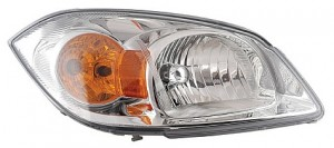 2005-2010 Chevrolet Chevy Cobalt Headlight Assembly (Base Model / SS/LT; w/ Yellow Turn Signal) - Right (Passenger)