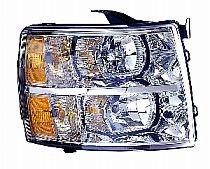 2007-2011 Chevrolet (Chevy) Silverado  Headlight Assembly - Right (Passenger)